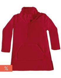 Coral Fleece Lounge Pullover