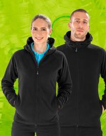 Recycled Hooded Microfleece Jacket